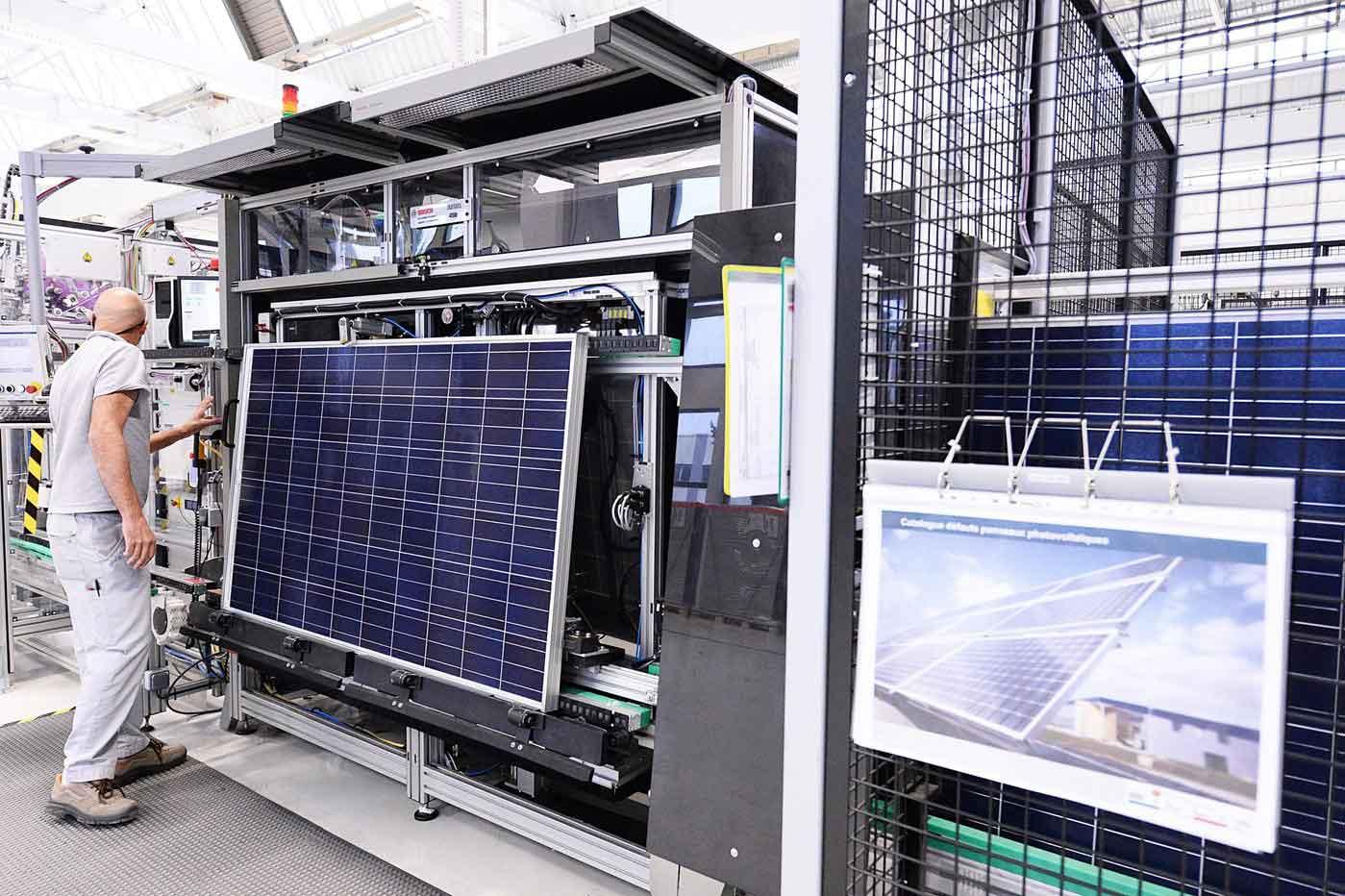 fabrication de panneaux solaires à Agen