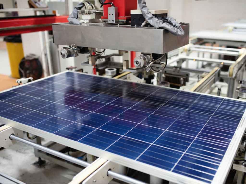 Panneaux solaires fabriqués à Agen