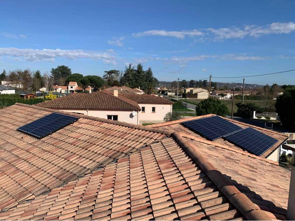 Panneaux photovoltaïques à haut rendement à Roquefort dans le 47
