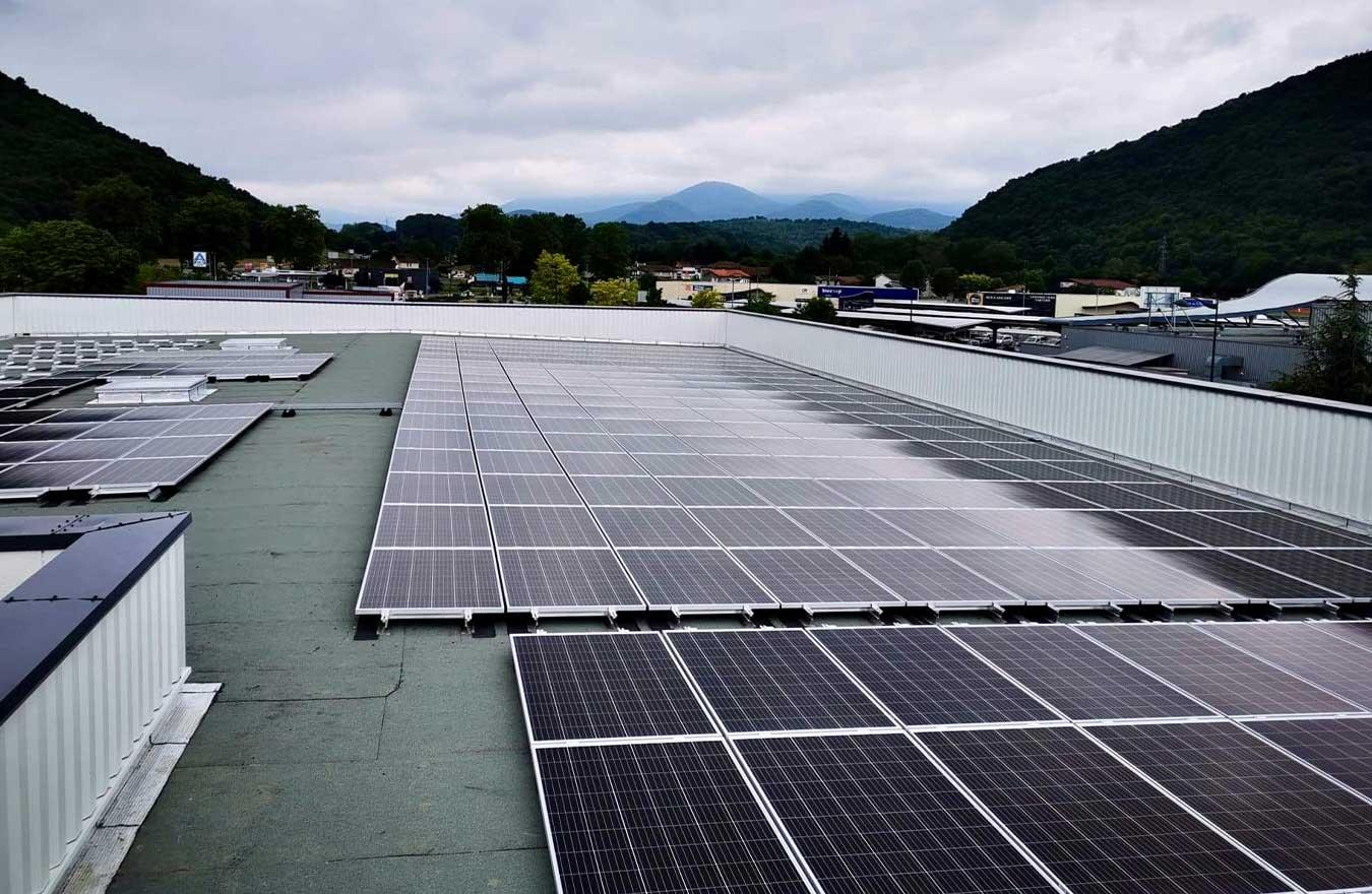 photovoltaique dans le 47 pour batiment industriel
